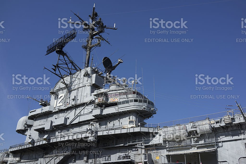 Naval Hornet royalty-free stock photo