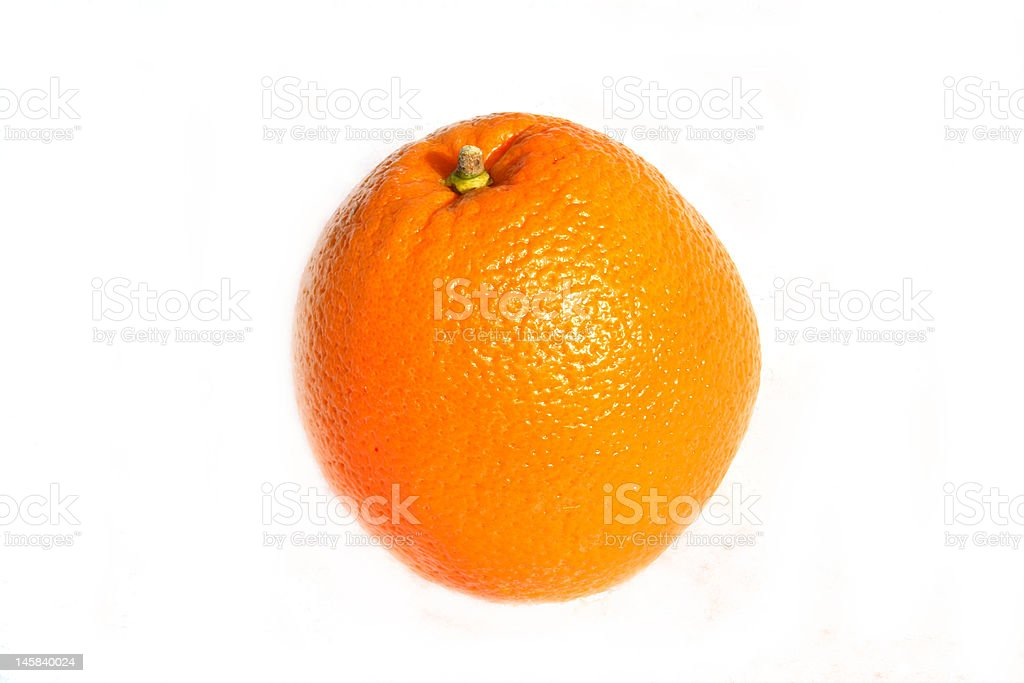 Navel Orange royalty-free stock photo