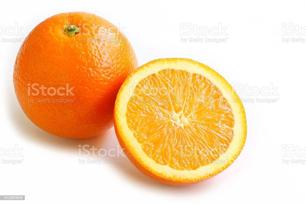 Navel Orange stock photo