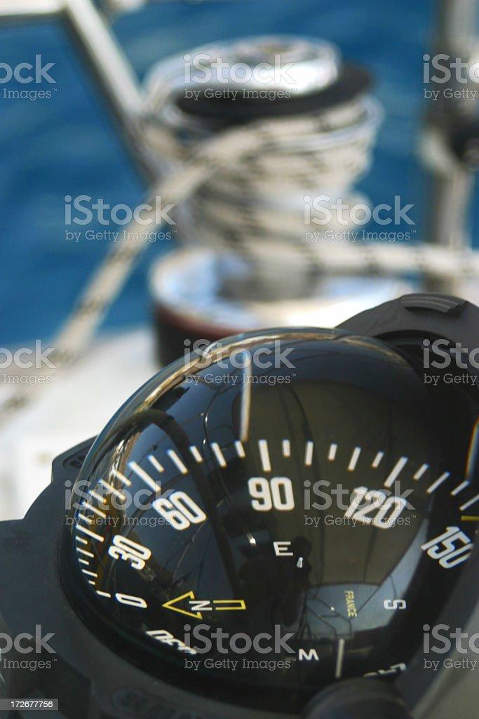 Navigating the seas royalty-free stock photo