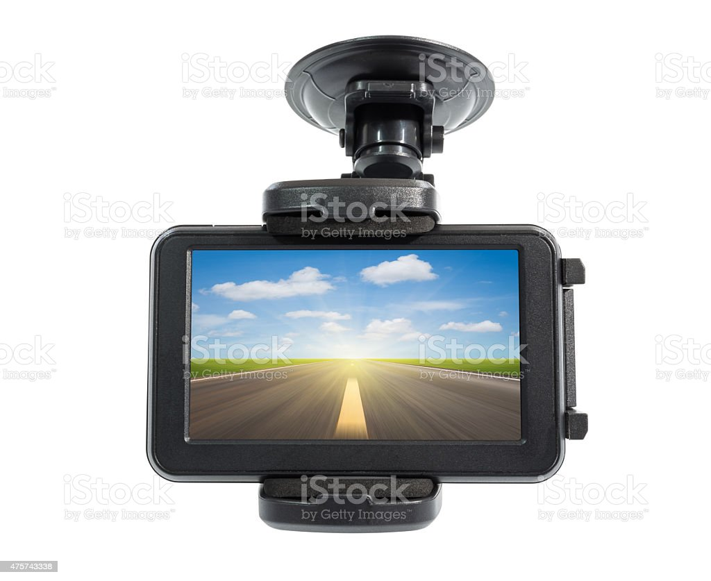 Navigation devices stock photo