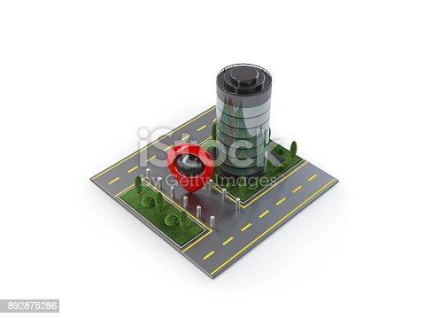 610119450 istock photo Navigation Icons 892875286