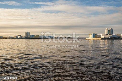 Navigation Pass S-1 of Saint Petersburg Dam, Russia