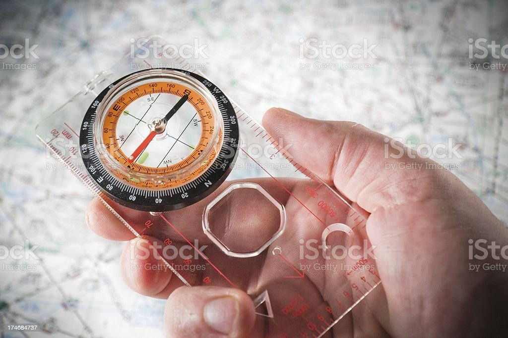 Navigation stock photo