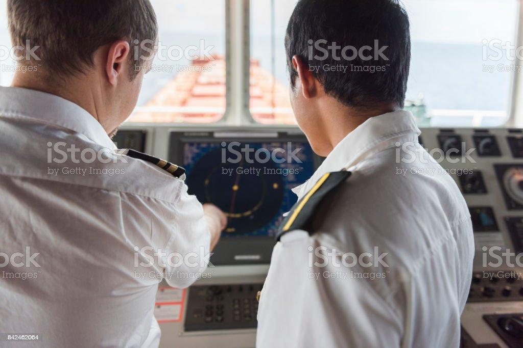 Navigation Training stock photo