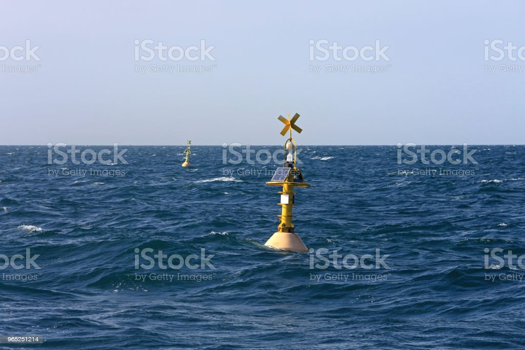 Navigational Buoy royalty-free stock photo