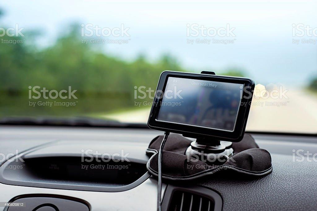 Navigator GPS stock photo