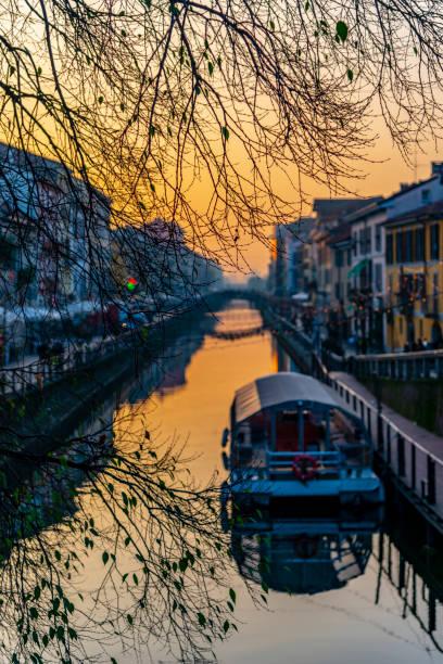 Naviglio Grande. Milan – Foto