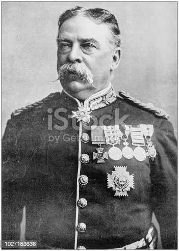 Navy and Army antique historical photographs: General Sir Hugh Henry Gough