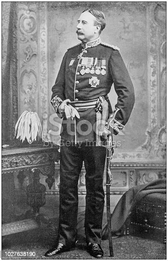 Navy and Army antique historical photographs: General Sir William Lockhart