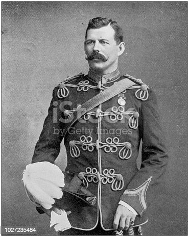 Navy and Army antique historical photographs: Major Inglefield