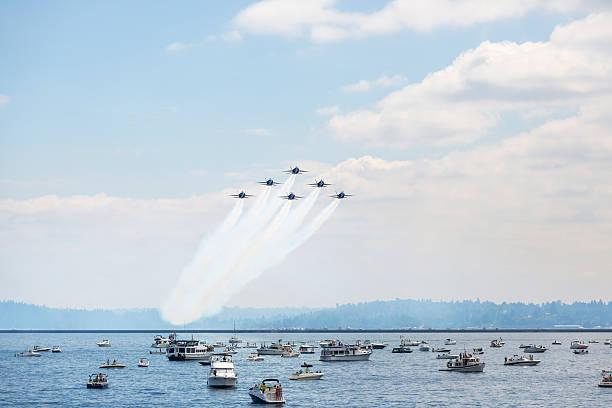 US Navy Blue-Winkel – Foto