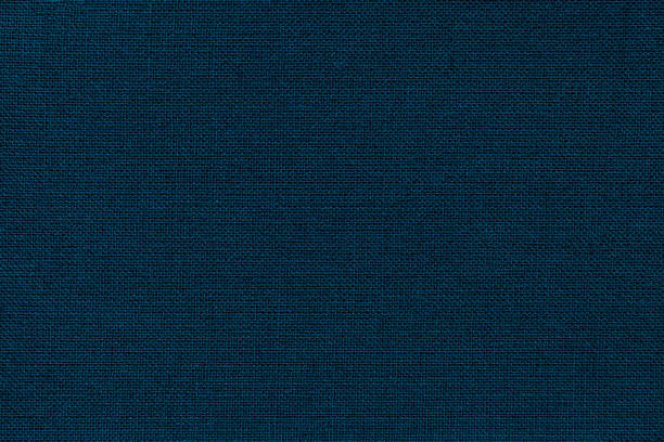 navy blue background from a textile material with wicker pattern, closeup. - rag stock pictures, royalty-free photos & images