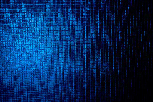 navy blue background squares texture night disco party luxury fashion