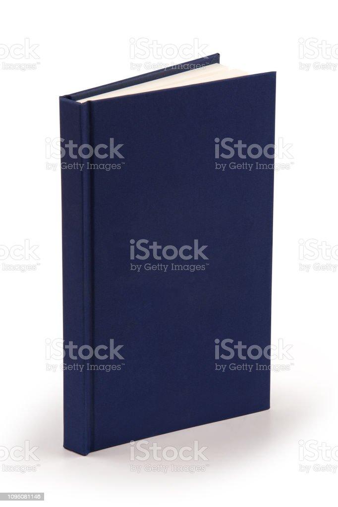 Navy blue Book - Clipping-Pfad – Foto