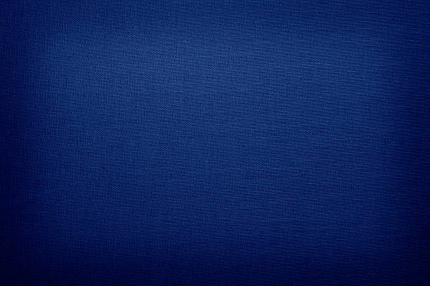 navy blue colored linen with vignette - navy stock photos and pictures