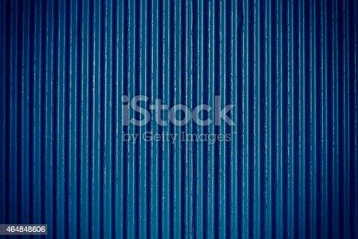 654931282istockphoto Navy blue corrugated sheet metal 464848606