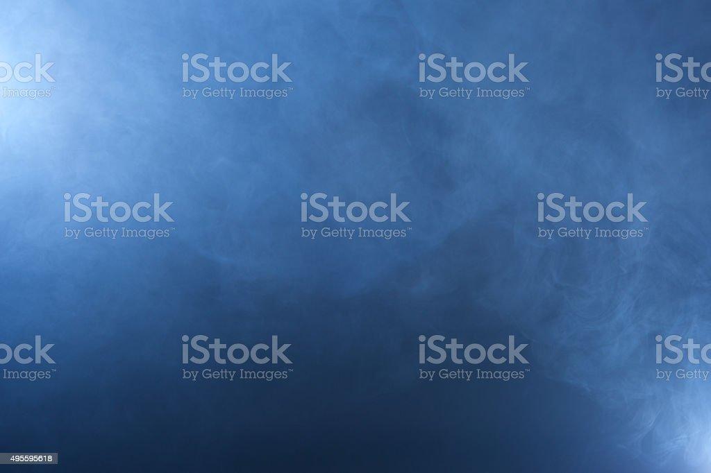 Navy Blue Smoke Texture stock photo