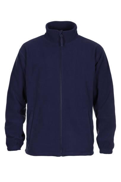 marineblaue sweatshirt fleece für mann - fleecepullover stock-fotos und bilder