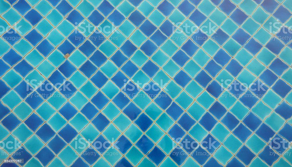 Navy Blue Swimming Pool Floor Tile Stock Photo Istock