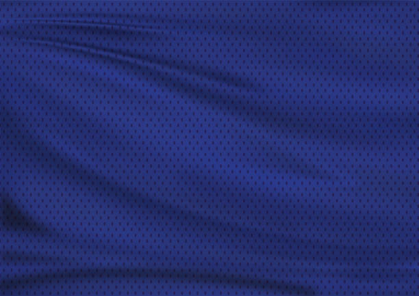 navy blue textile sport background stock photo