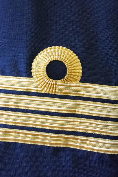 Navy captain uniform stock photo