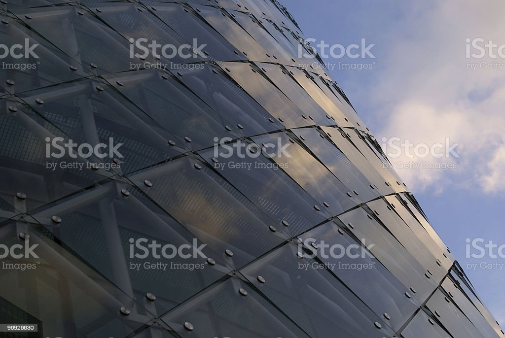 Navy facade royalty-free stock photo