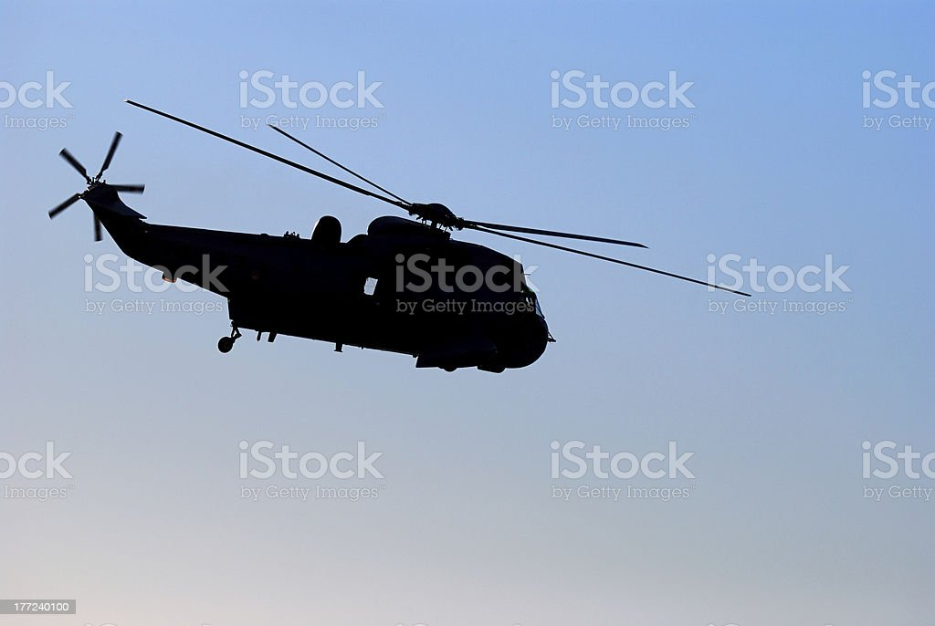 Navy Helicopter stock photo
