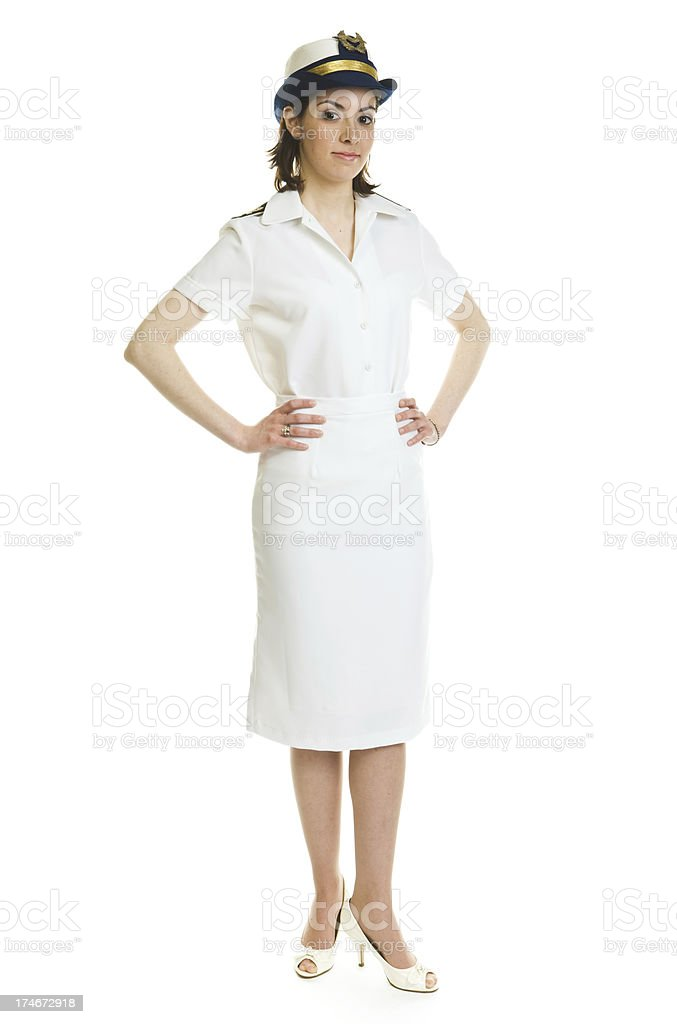 Navy personel royalty-free stock photo