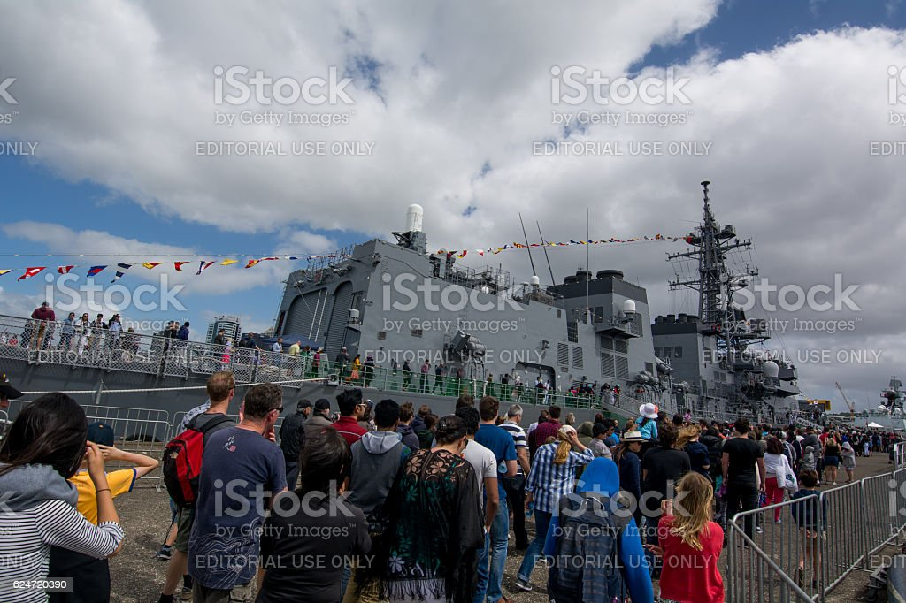 NZ Navy stock photo