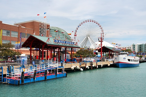 Navy Pier Chicago Stock Photo - Download Image Now