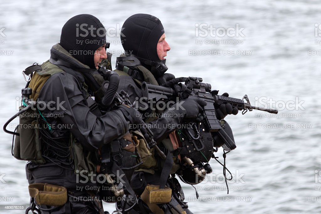 Navy Seals royalty-free stock photo