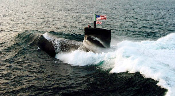 us navy submarine - navy stock photos and pictures