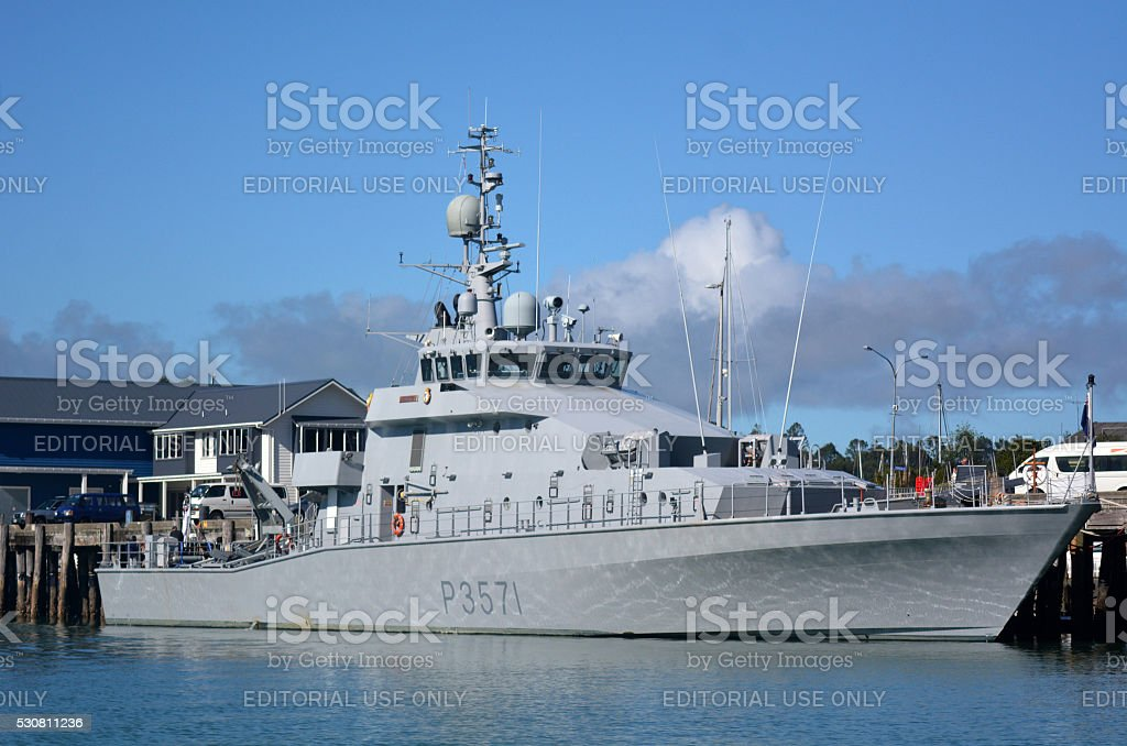 HMNZS HAWEA - P3571 Navy Vessel Ship stock photo