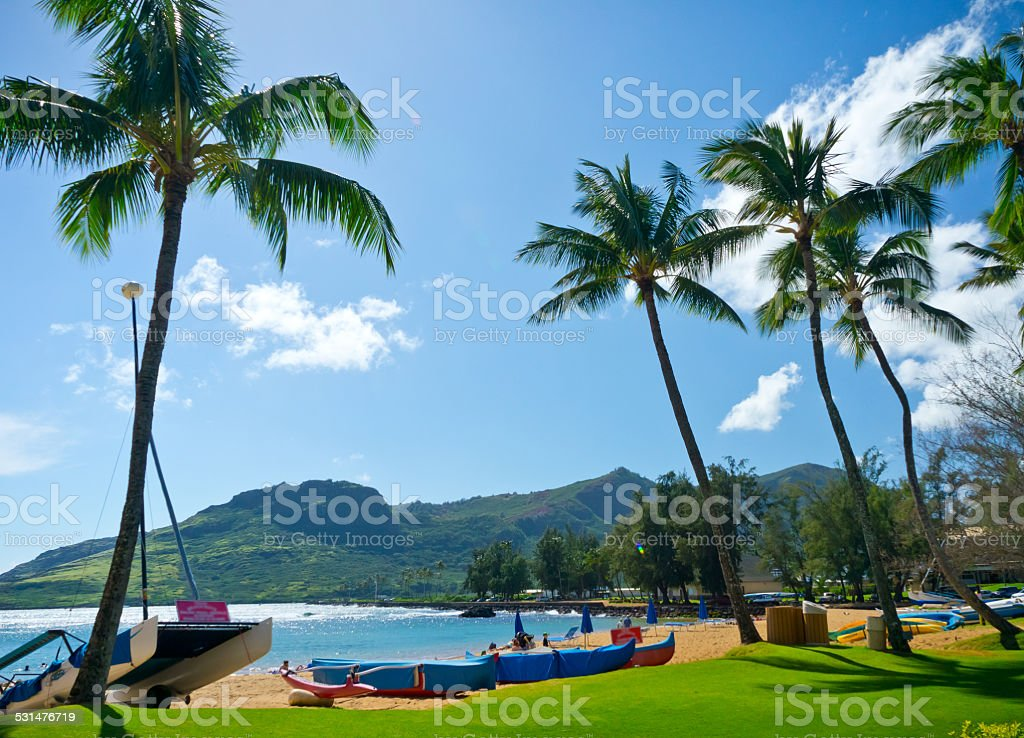 Nawiliwili, Kauai Island, Hawaii, USA stock photo