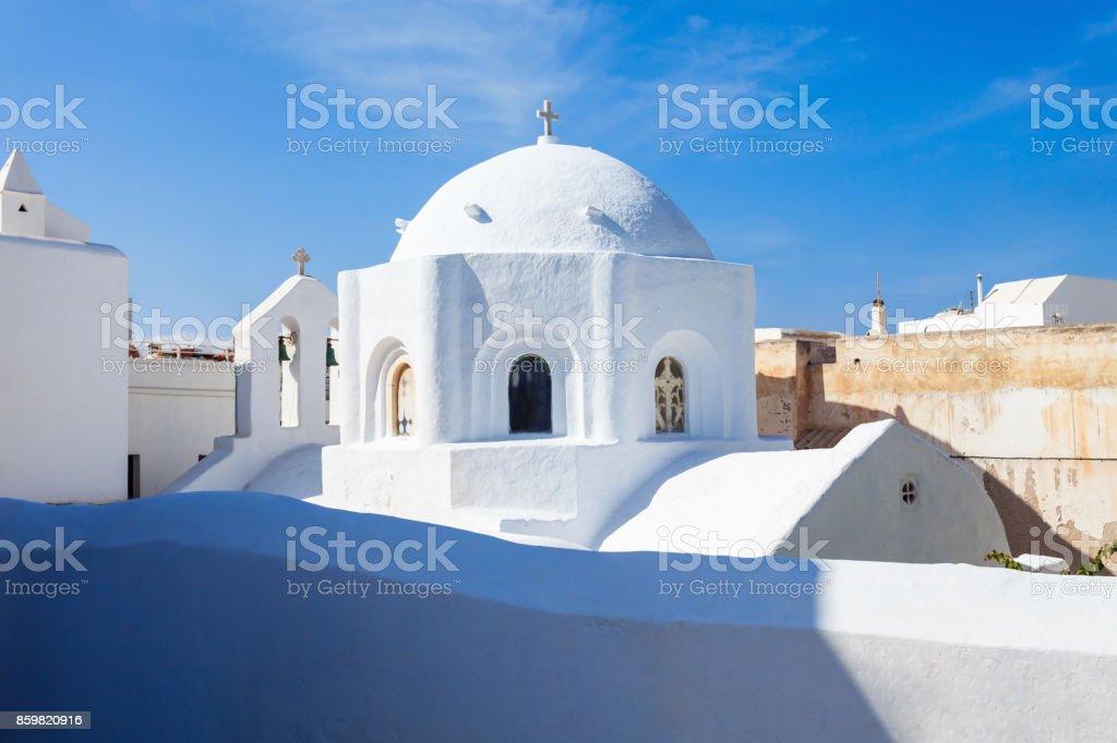 Naxos old town, Greece stock photo