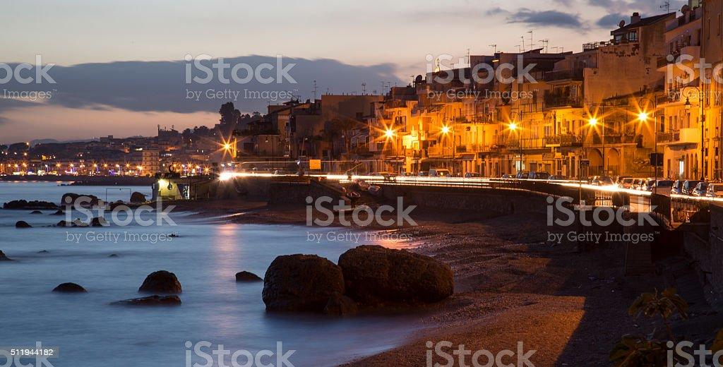 Naxos, Sicily, Italy stock photo