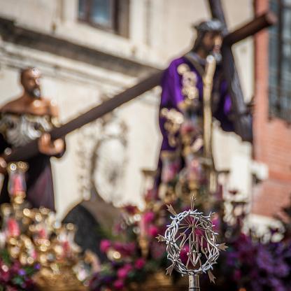 Nazareno, Procession Holy Friday. Leon, Spain.