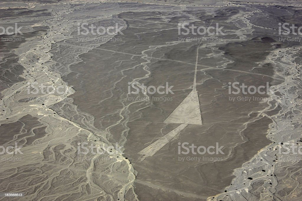Nazca line stock photo