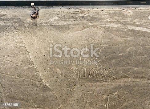 istock Nazca Lines Hands 487621651