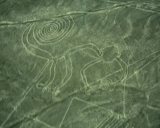 Nazca-Linien des Affen – Foto
