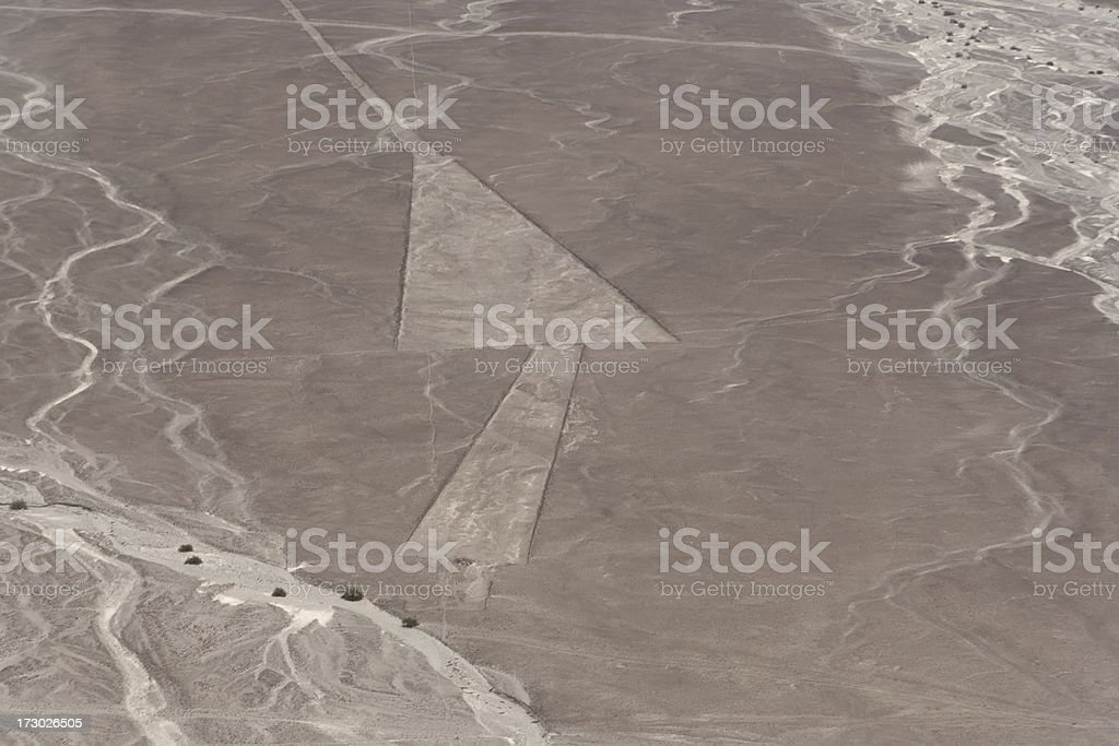 Nazca lines royalty-free stock photo