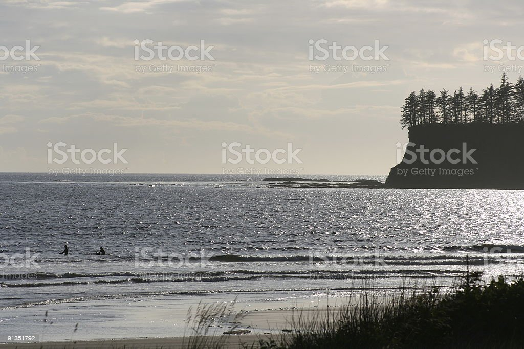 Neah Bay, Makah Tribe Reservation stock photo