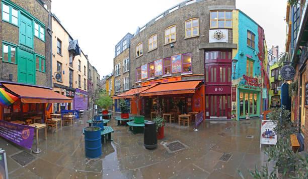 Neals Yard London stock photo
