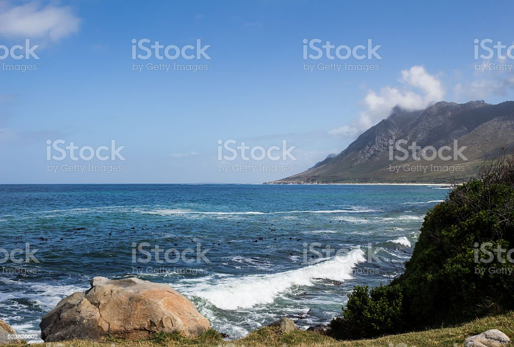 Near Gordon's Bay Western Cape South Africa stock photo