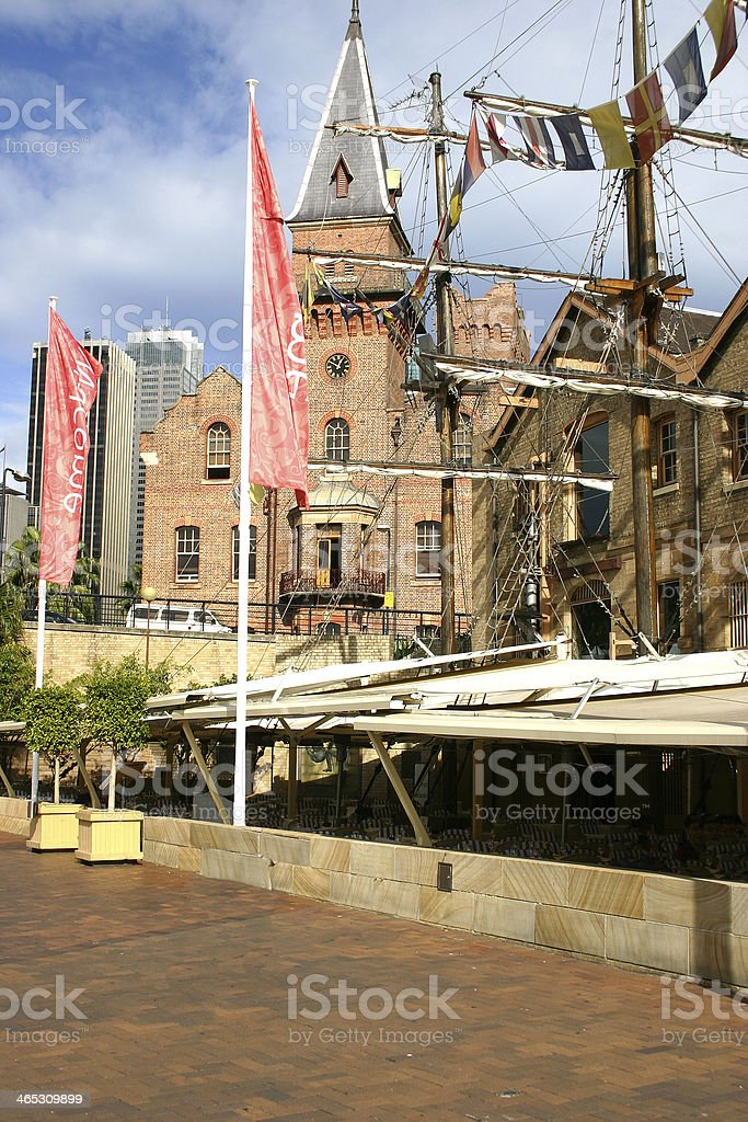 Near the Rocks, Sydney royalty-free stock photo