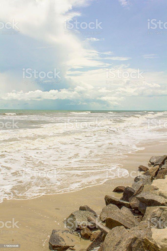 Near the Seashore stock photo