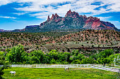 Eagle Crags in southern Utah, nearby Zion National Park, Utah.