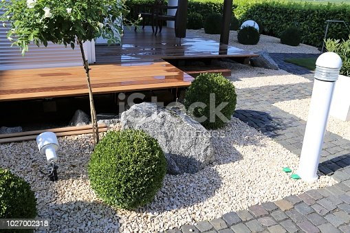 Neat and tidy garden