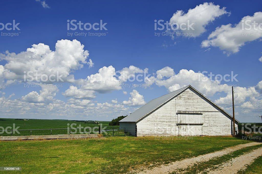 Nebraska Barn royalty-free stock photo